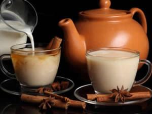 Вред чая с молоком